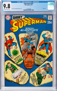 Superman #227 (DC, 1970) CGC NM/MT 9.8 Off-white pages