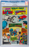 Silver Age (1956-1969):Superhero, World's Finest Comics #188 (DC, 1969) CGC NM/MT 9.8 Off-white towhite pages....