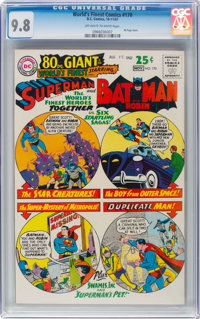 World's Finest Comics #170 (DC, 1967) CGC NM/MT 9.8 Off-white to white pages