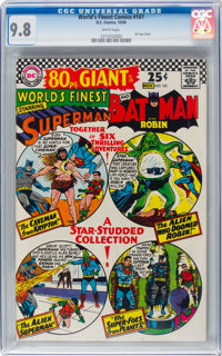 World's Finest Comics #161 (DC, 1966) CGC NM/MT 9.8 White pages