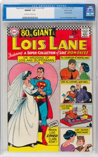 Superman's Girlfriend Lois Lane #68 Pacific Coast Pedigree (DC, 1966) CGC NM/MT 9.8 Off-white to white pages