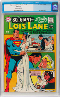 Superman's Girlfriend Lois Lane #86 (DC, 1968) CGC NM+ 9.6 Off-white to white pages