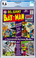 Silver Age (1956-1969):Superhero, 80 Page Giant #12 Batman (DC, 1965) CGC NM+ 9.6 White pages....