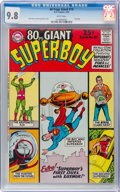 Silver Age (1956-1969):Superhero, 80 Page Giant #10 Superboy (DC, 1965) CGC NM/MT 9.8 White pages....