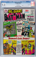 Silver Age (1956-1969):Superhero, 80 Page Giant #5 Batman - Pacific Coast Pedigree (DC, 1964) CGCNM/MT 9.8 White pages....