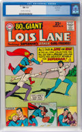 Silver Age (1956-1969):Superhero, 80 Page Giant #14 Lois Lane - Northland Pedigree (DC, 1965) CGC NM9.4 Off-white to white pages....