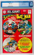 Silver Age (1956-1969):Superhero, 80 Page Giant #15 Superman and Batman - Pacific Coast Pedigree (DC,1965) CGC NM+ 9.6 Off-white to white pages....