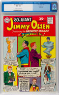 Silver Age (1956-1969):Superhero, 80 Page Giant #13 Jimmy Olsen - Pacific Coast Pedigree (DC, 1965)CGC NM+ 9.6 Off-white to white pages....