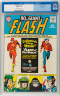 Silver Age (1956-1969):Superhero, 80 Page Giant #9 The Flash - Western Penn Pedigree (DC, 1965) CGCNM/MT 9.8 Off-white to white pages....