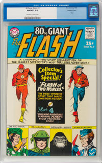 80 Page Giant #9 The Flash - Western Penn Pedigree (DC, 1965) CGC NM/MT 9.8 Off-white to white pages