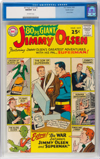 80 Page Giant #2 Jimmy Olsen - Pacific Coast Pedigree (DC, 1964) CGC NM/MT 9.8 Off-white pages