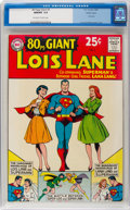 Silver Age (1956-1969):Superhero, 80 Page Giant #3 Lois Lane - Pacific Coast Pedigree (DC, 1964) CGCNM/MT 9.8 Off-white to white pages....