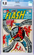 Silver Age (1956-1969):Superhero, The Flash #187 (DC, 1969) CGC NM/MT 9.8 White pages....