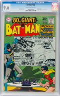 Silver Age (1956-1969):Superhero, Batman #203 (DC, 1968) CGC NM+ 9.6 Off-white to white pages....