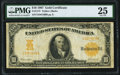 Large Size:Gold Certificates, Fr. 1172 $10 1907 Gold Certificate PMG Very Fine 25.. ...