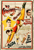 Movie Posters:Miscellaneous, W.S. Cleveland's Consolidated Minstrels: Ouda (1890's). Fi...