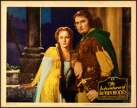 "The Adventures of Robin Hood (Warner Brothers, 1938). Near Mint-. Linen Finish Lobby Card (11"" X 14"")"
