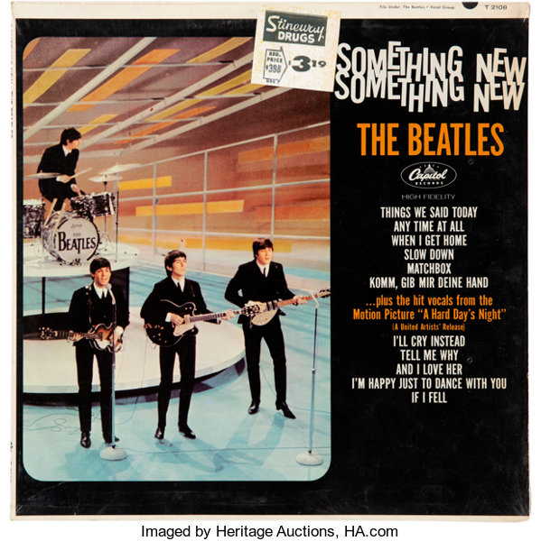 The Beatles Something New Mono Vinyl LP Still Sealed With Original