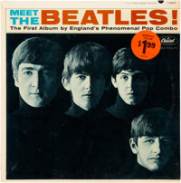 The Beatles Meet the Beatles Mono Vinyl LP With Original Special Value Sticker and Without ""