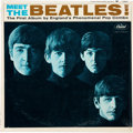 """Music Memorabilia:Recordings, The Beatles Meet the Beatles Mono Vinyl LP With """"Produced ByGeorge Martin"""" Credit On Back Cover (Capitol T 2047, ..."""