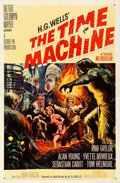 """Movie Posters:Science Fiction, The Time Machine (MGM, 1960). Fine/Very Fine on Linen. One Sheet (27"""" X 41""""). Reynold Brown Artwork.. ..."""