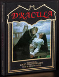 "Movie Posters:Horror, Dracula by Bram Stoker (Unicorn, 1985). Very Fine+. First Edition Hardcover Book (266 Pages, 8.5"" X 10.25"") Greg Hildebrandt..."