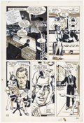 Original Comic Art:Panel Pages, Howard Chaykin American Flagg #5 Story Page 22 Original Art (First, 1984)....