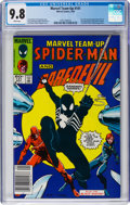 Modern Age (1980-Present):Superhero, Marvel Team-Up #141 Spider-Man and Daredevil (Marvel, 1984) CGCNM/MT 9.8 White pages....