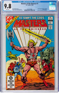 Modern Age (1980-Present):Superhero, Masters of the Universe #1 (DC, 1982) CGC NM/MT 9.8 White pages....