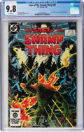 Modern Age (1980-Present):Superhero, Saga of the Swamp Thing #20 (DC, 1984) CGC NM/MT 9.8 Whitepages....
