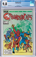 Modern Age (1980-Present):Cartoon Character, Thundercats #1 (Marvel, 1985) CGC NM/MT 9.8 White pages....