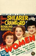 Movie Posters:Comedy, The Women (MGM, 1939). Fine+ on Cardstock. Window ...