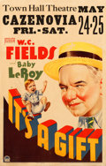 "Movie Posters:Comedy, It's a Gift (Paramount, 1934). Fine/Very Fine. Window Card (14"" X 22"").. ..."