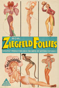 Movie Posters:Musical, Ziegfeld Follies (MGM, 1945). Folded, Fine/Very Fine.