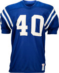 Football Collectibles:Uniforms, 1968 Bobby Boyd Game Worn Baltimore Colts Jersey. ...