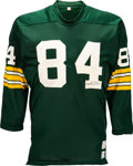 Football Collectibles:Uniforms, 1971-72 Carroll Dale Game Worn & Signed Green Bay Packers Jersey, MEARS A9....