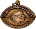 Football Collectibles:Others, 1941 Chicago Bears NFL Championship Gold Pendant Presented to Team Doctor....
