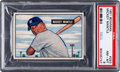 Baseball Cards:Singles (1950-1959), 1951 Bowman Mickey Mantle #253 PSA NM-MT 8.  Argue...