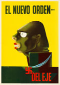 Movie Posters:War, World War II Propaganda (Office of the Coordinator of Inter-American Affairs, Early 1940s). Folded, Very Fine+. Poster (14.2...