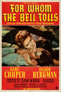 Movie Posters:War, For Whom the Bell Tolls (Paramount, 1943). Folded, Fine/Ve...