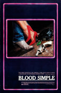 "Blood Simple (Circle Films, 1984). Rolled, Fine/Very Fine. One Sheet (27"" X 41"")"