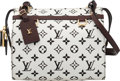 "Luxury Accessories:Bags, Louis Vuitton Black & White Monogram Coated Canvas Speedy Amazon PM Bag. Condition: 2. 9.5"" Width x 8.5"" Height x 6"" D..."