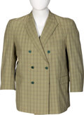 Music Memorabilia:Costumes, The Beatles Tan and Green Double Breasted Blazer Sports Coat (NEMS Enterprises, 1966). . ...
