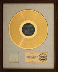 Steppenwolf White Matte RIAA Gold Sales Award and John Goadsby Owned Belt. ... (Total: 2)