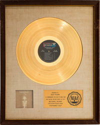Steppenwolf Gold: Their Great Hits White Matte RIAA Gold Sales Award (Dunhill, 1971)