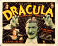 "Movie Posters:Horror, Dracula (Universal, 1931). Very Fine-. Title Lobby Card (11"" X14"").. ..."