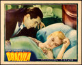 "Movie Posters:Horror, Dracula (Universal, 1931). Very Fine+. Lobby Card (11"" X 14"").. ..."