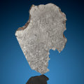 Meteorites:Irons, Gibeon Meteorite End Cut. Iron, IVA. Great Nama Land, Namibia - (25° 30'S, 18° 0'E). Found: 1836. ...