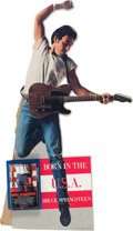 Music Memorabilia:Memorabilia, Bruce Springsteen Born in the USA Easel-Backed Cassette Promo Standee (1984). . ...