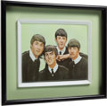 Music Memorabilia:Original Art, The Beatles Rare Framed Three-Dimensional Artwork (circa mid-1960s). . ...